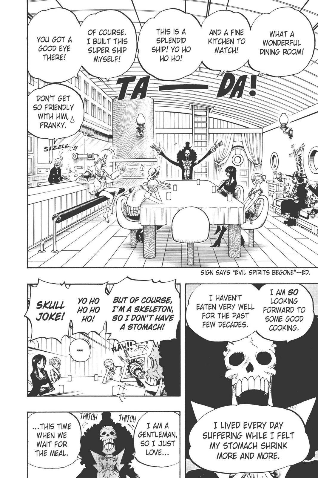 One Piece Chapter 443 Page 4
