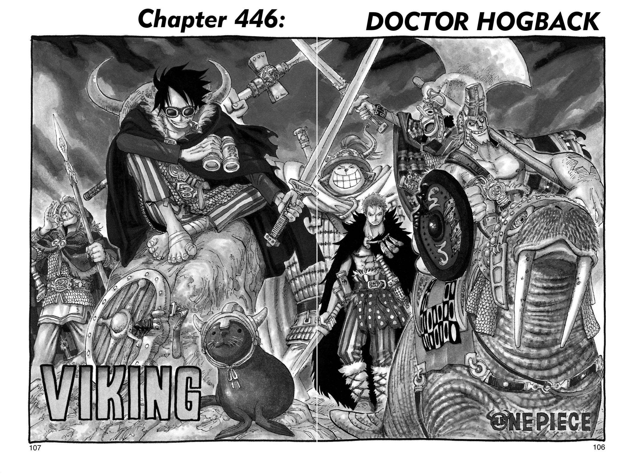One Piece Chapter 446 Page 1