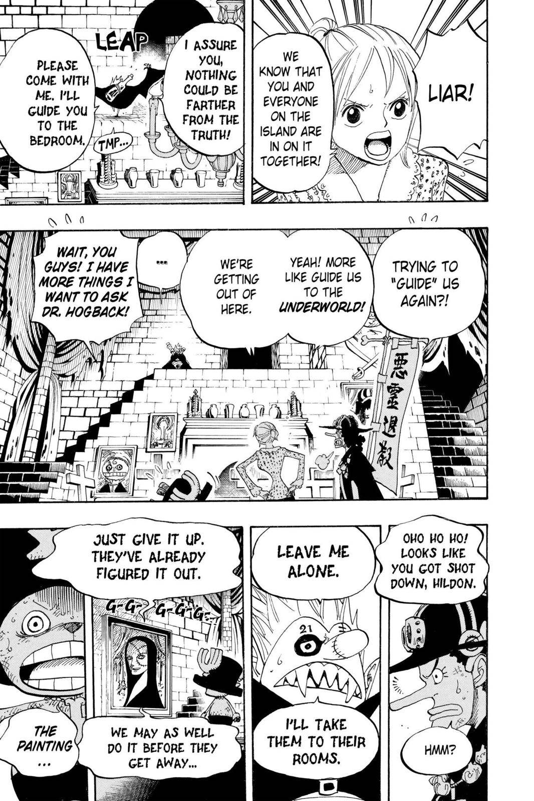 One Piece Chapter 447 Page 11