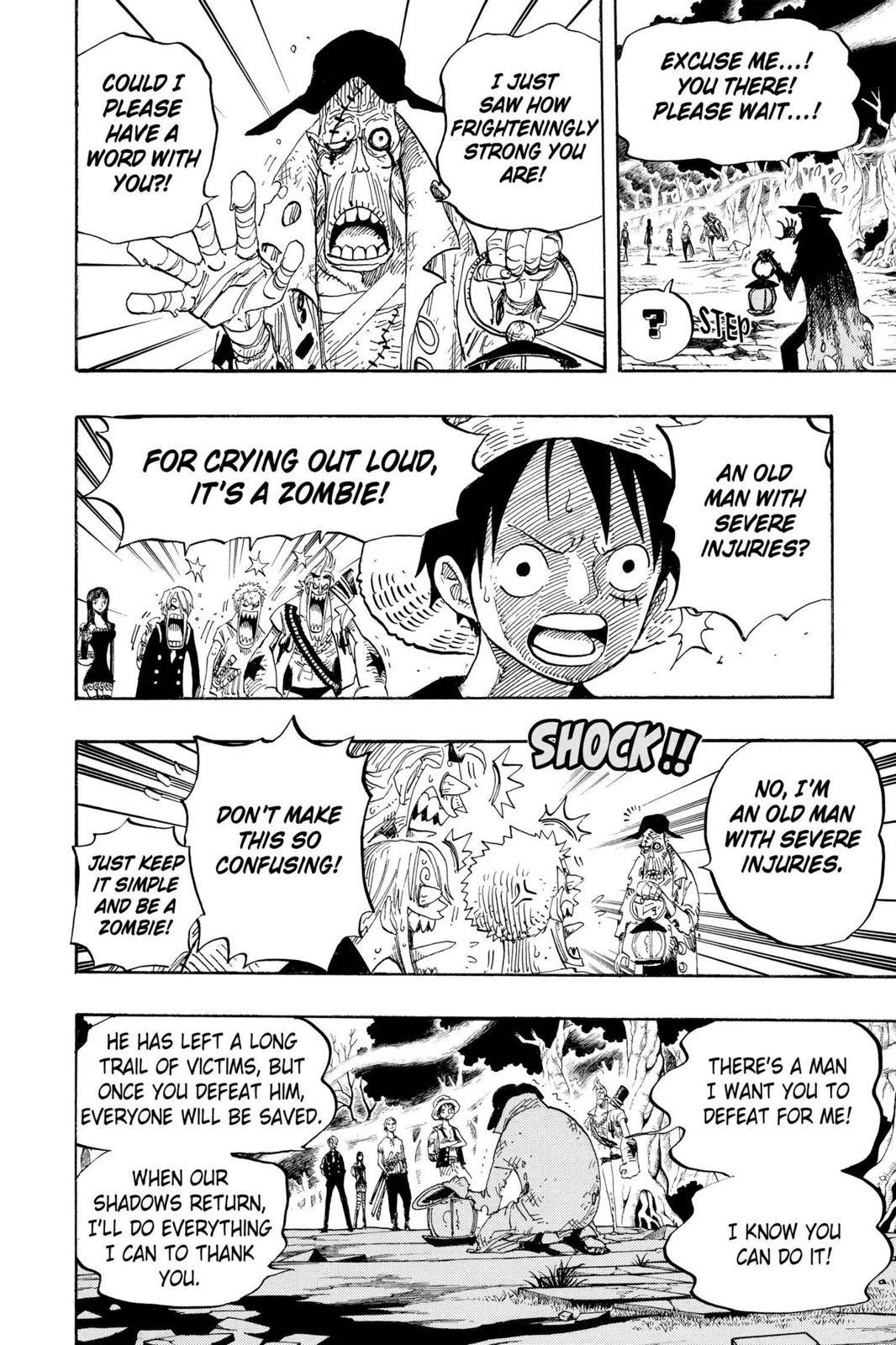 One Piece Chapter 448 Page 17