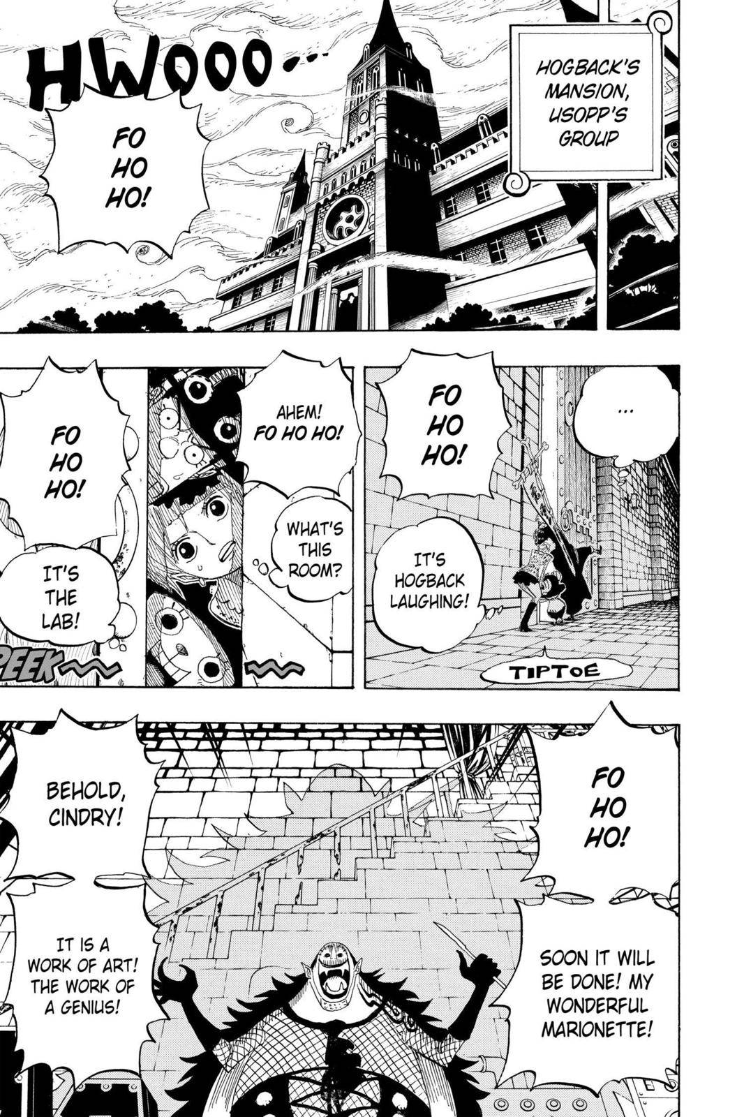 One Piece Chapter 449 Page 5