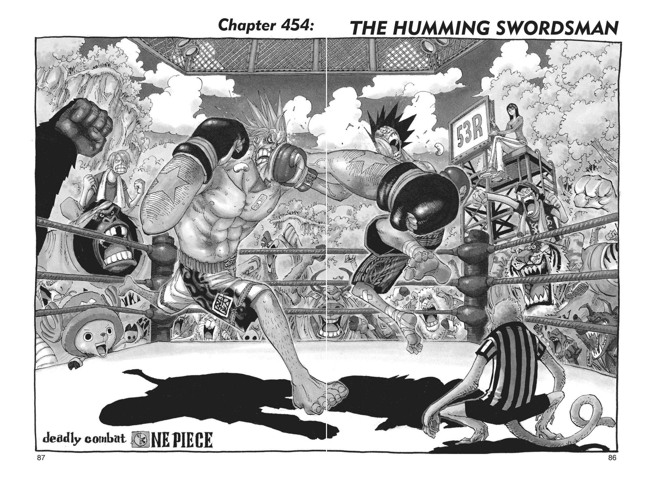 One Piece Chapter 454 Page 1