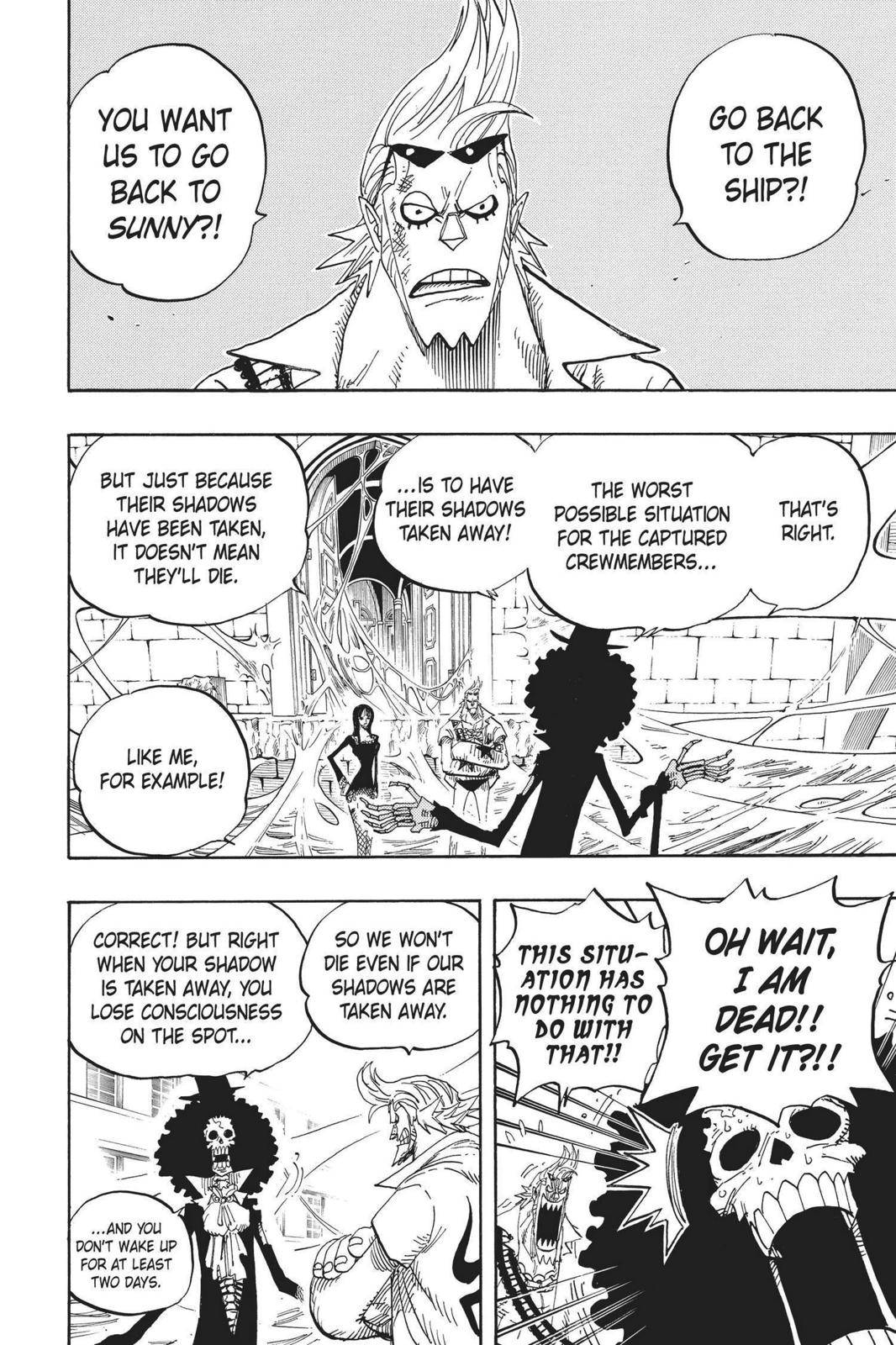One Piece Chapter 456 Page 2