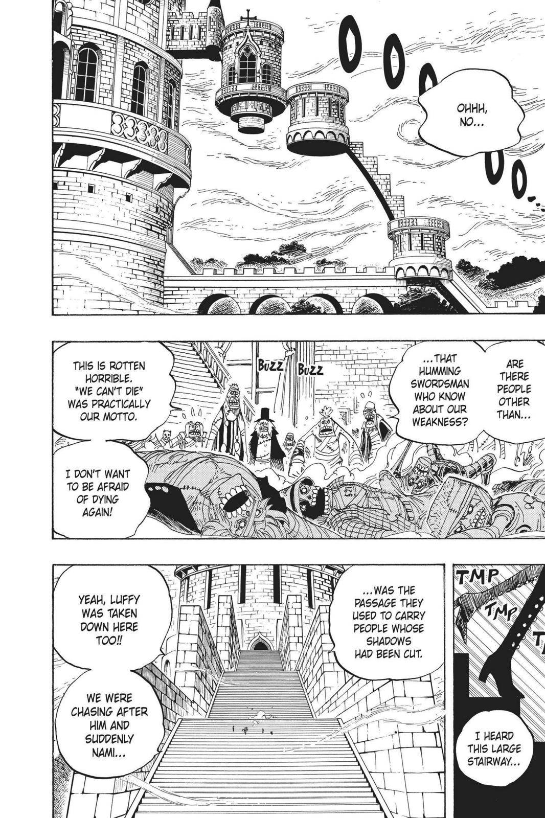 One Piece Chapter 458 Page 2