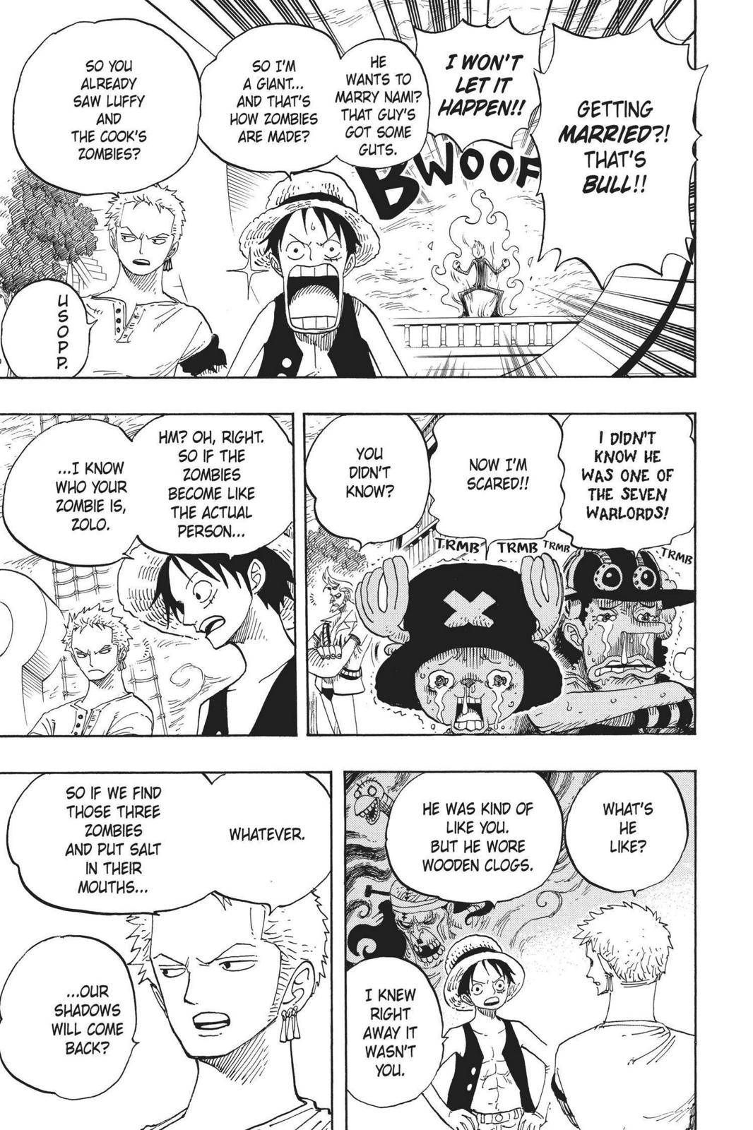 One Piece Chapter 459 Page 5