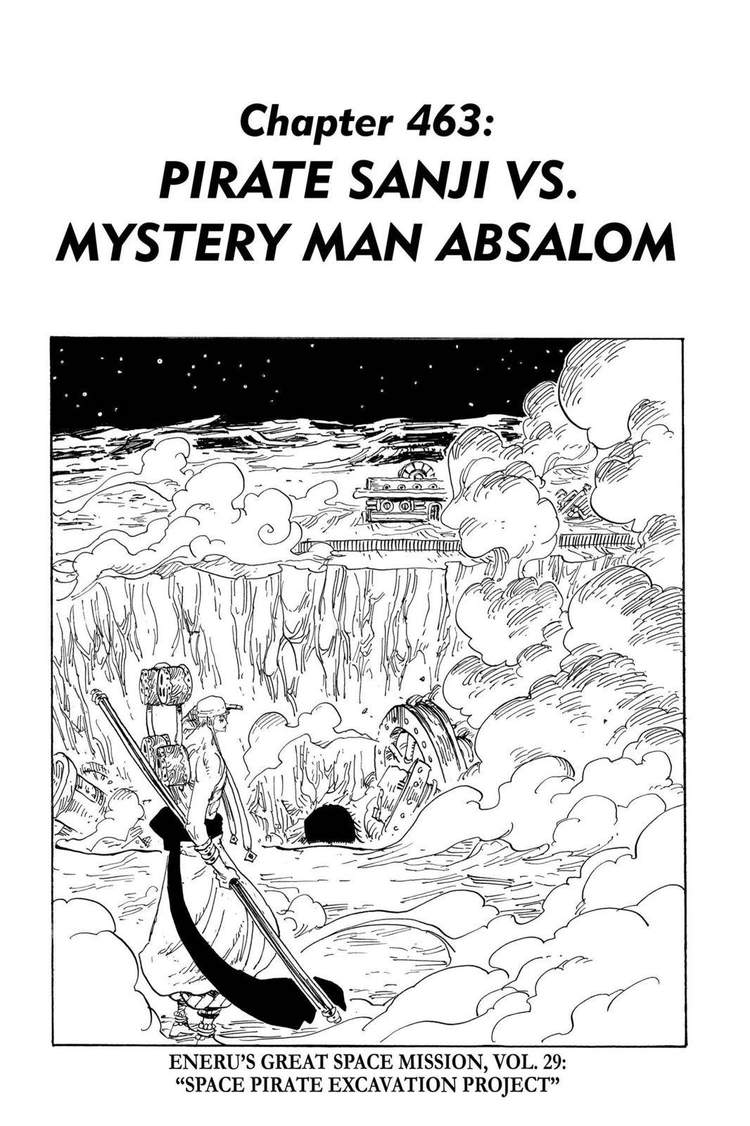 One Piece Chapter 463 Page 1