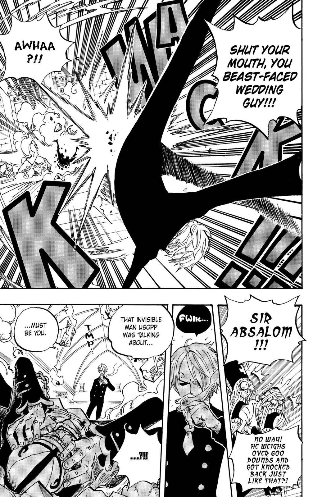 One Piece Chapter 463 Page 15