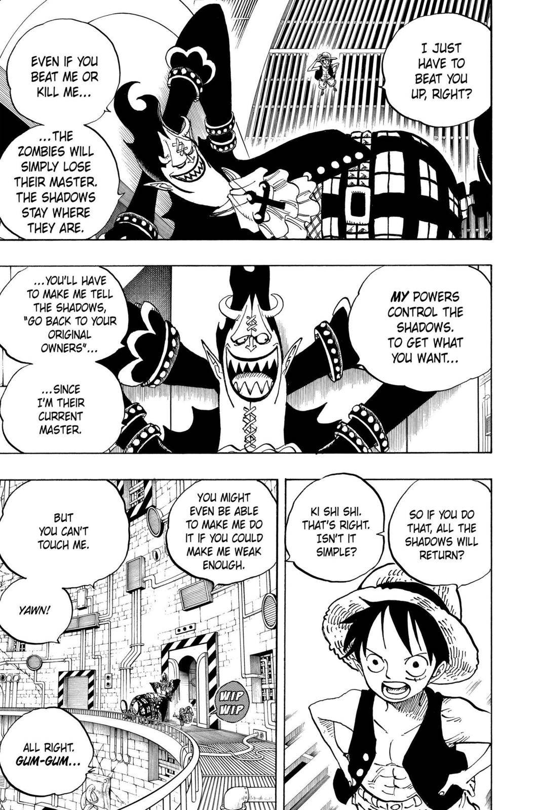 One Piece Chapter 463 Page 3