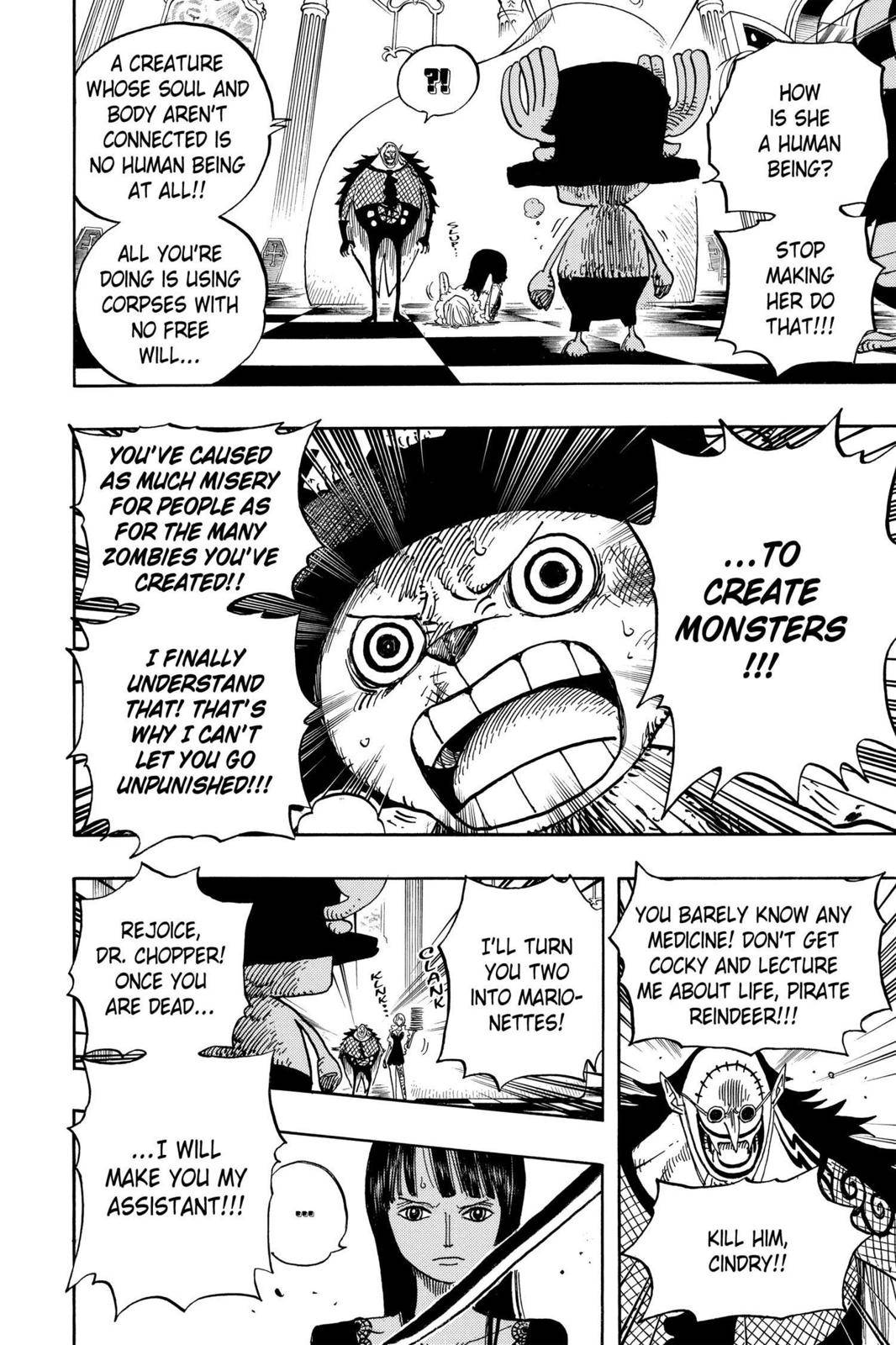 One Piece Chapter 468 Page 10