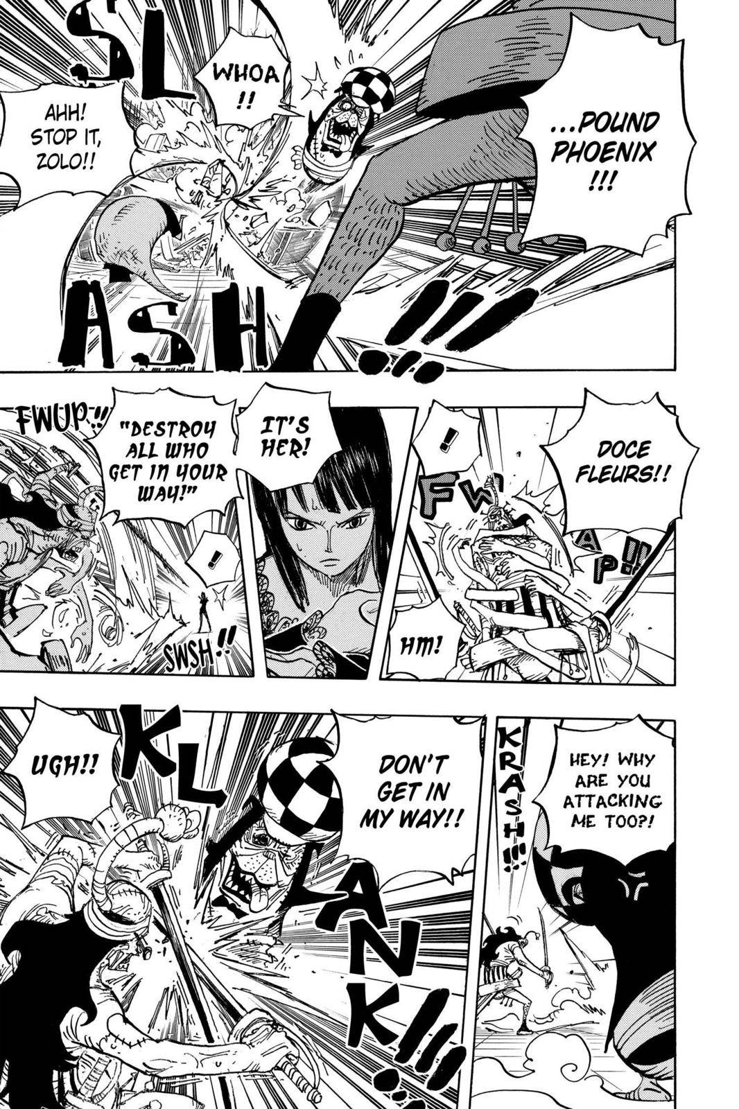 One Piece Chapter 468 Page 15