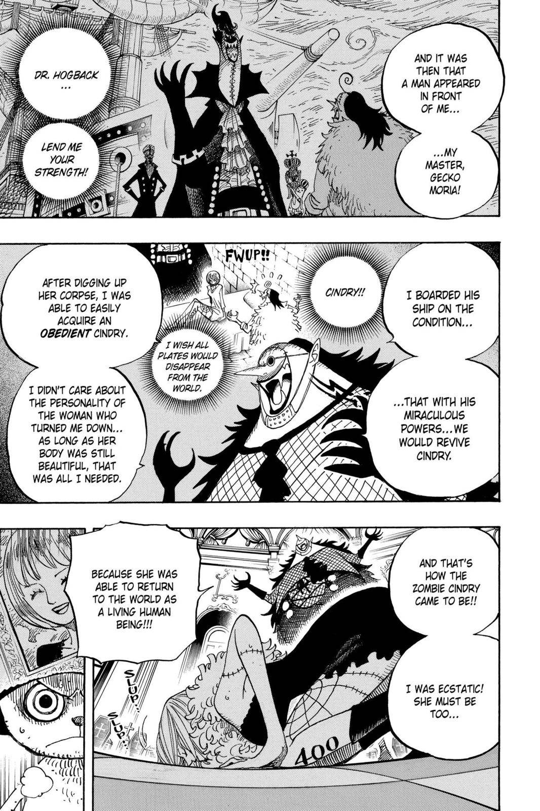 One Piece Chapter 468 Page 9