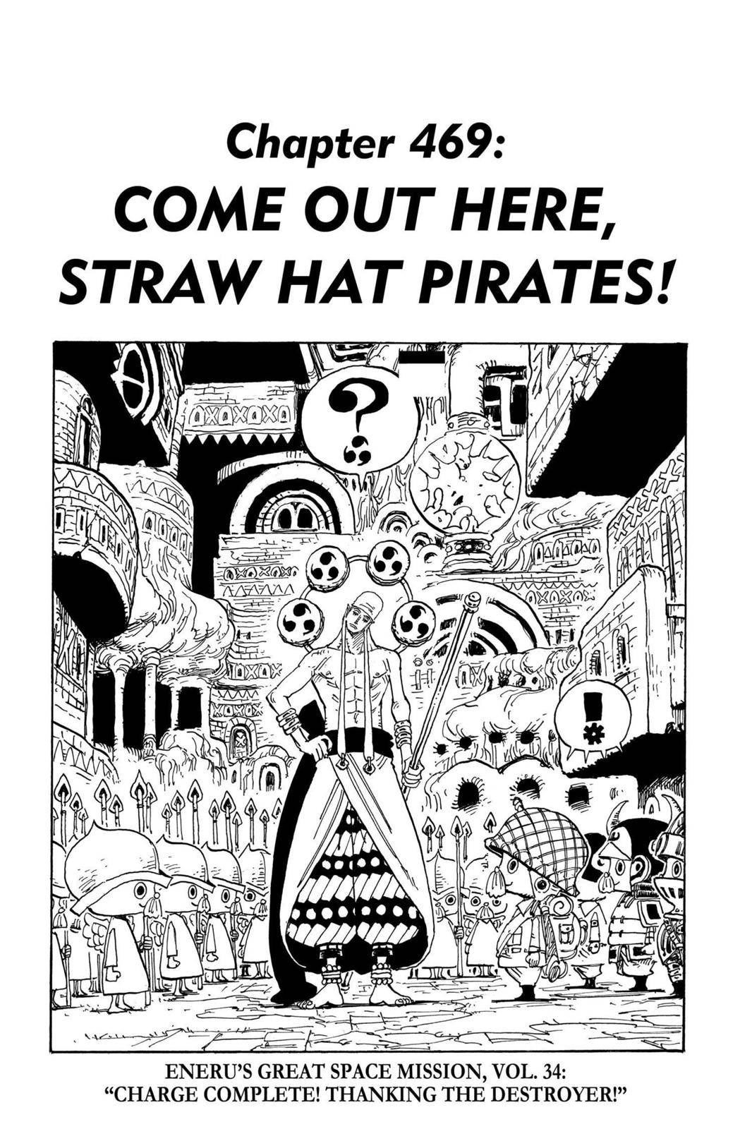 One Piece Chapter 469 Page 1