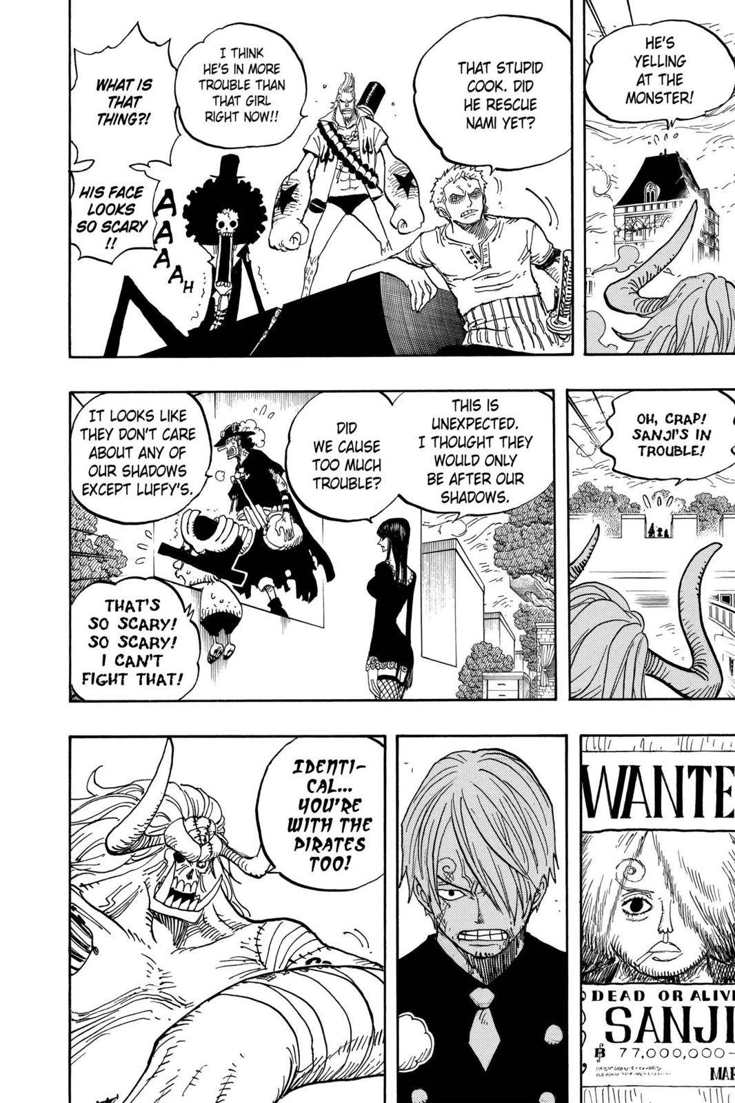 One Piece Chapter 470 Page 3