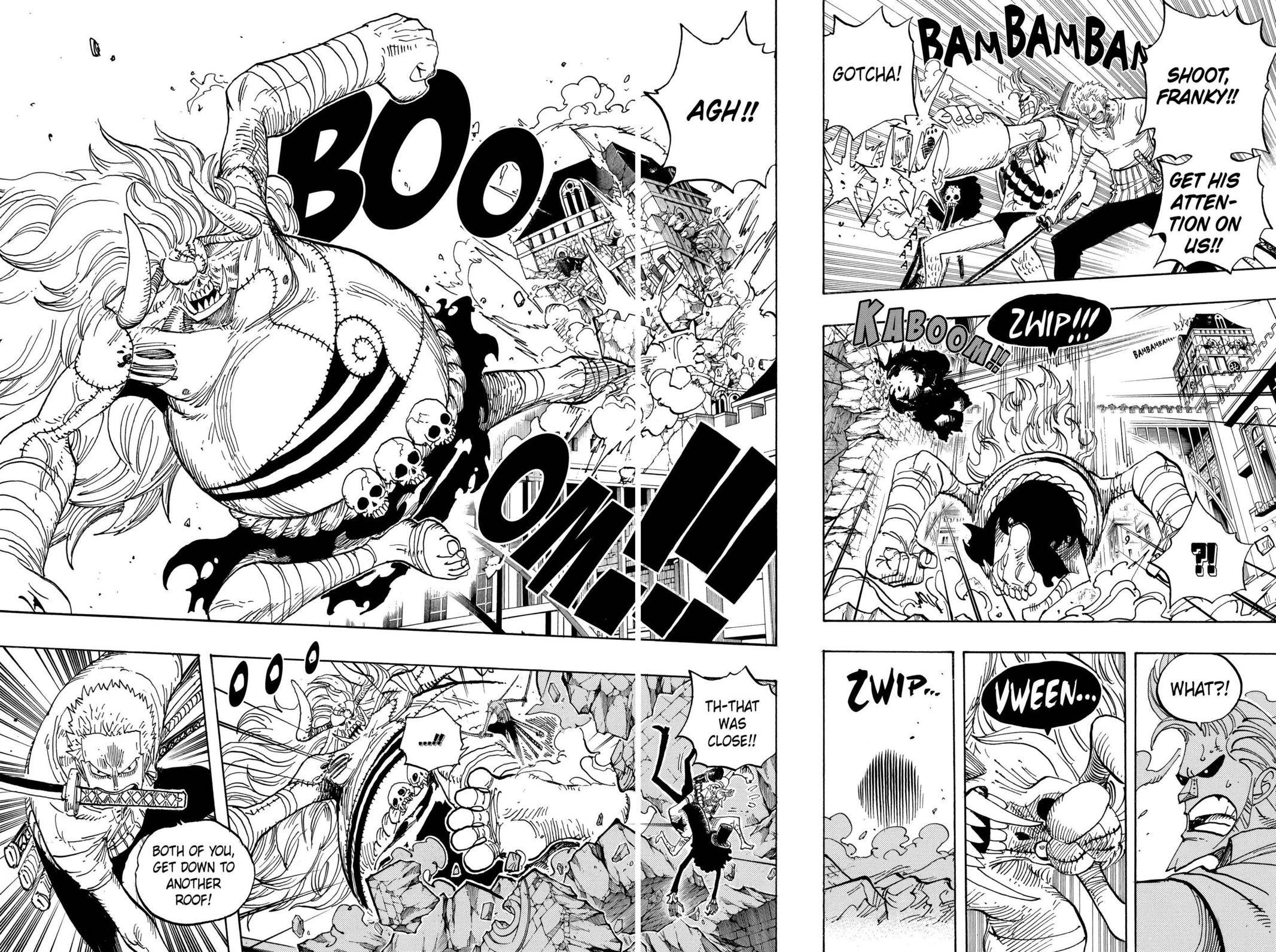 One Piece Chapter 470 Page 9