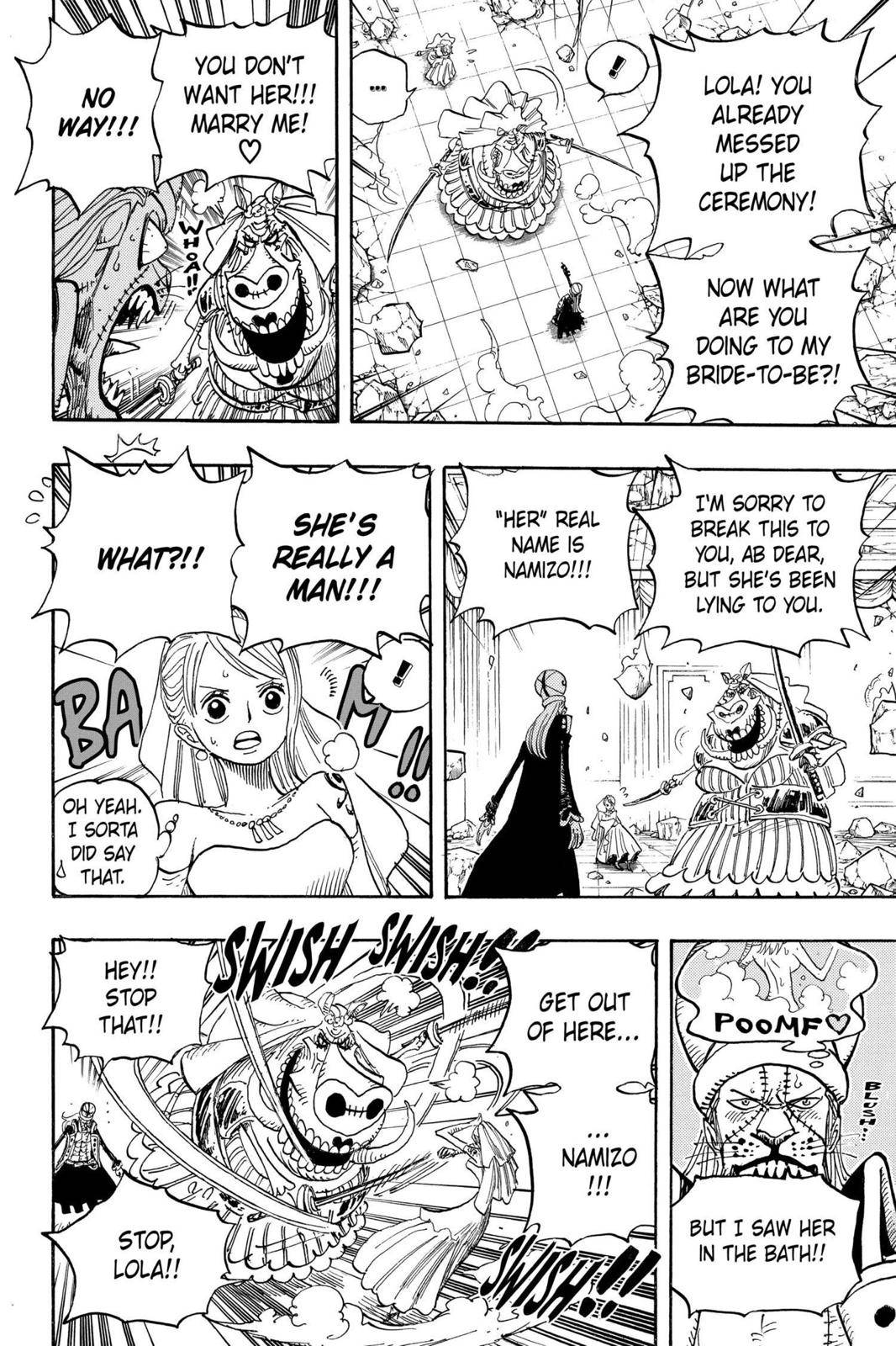 One Piece Chapter 471 Page 17