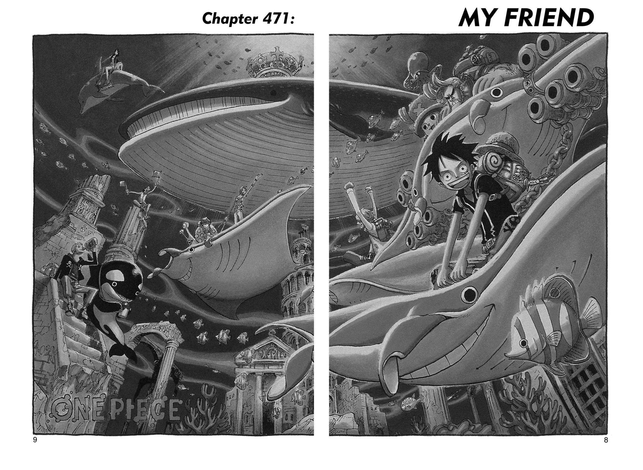 One Piece Chapter 471 Page 8