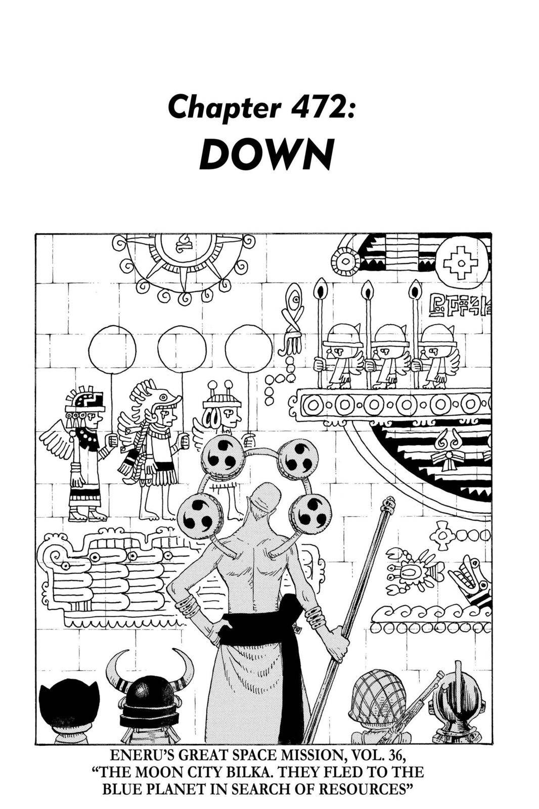 One Piece Chapter 472 Page 1