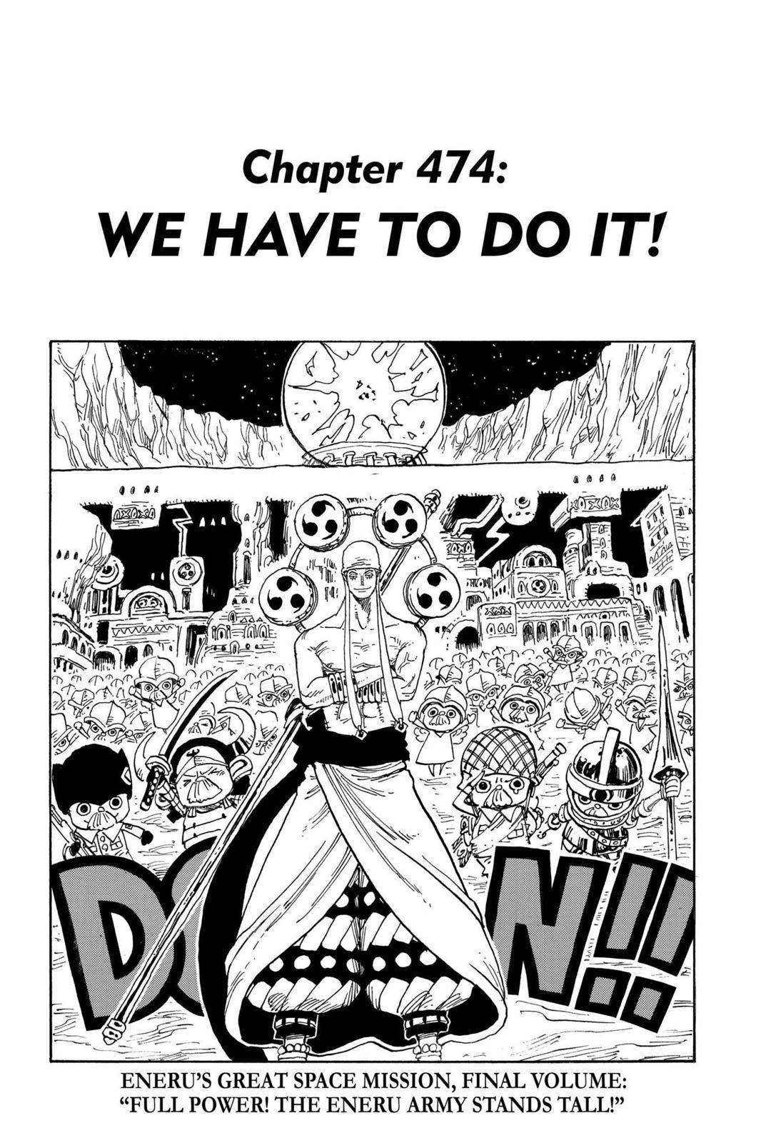 One Piece Chapter 474 Page 1