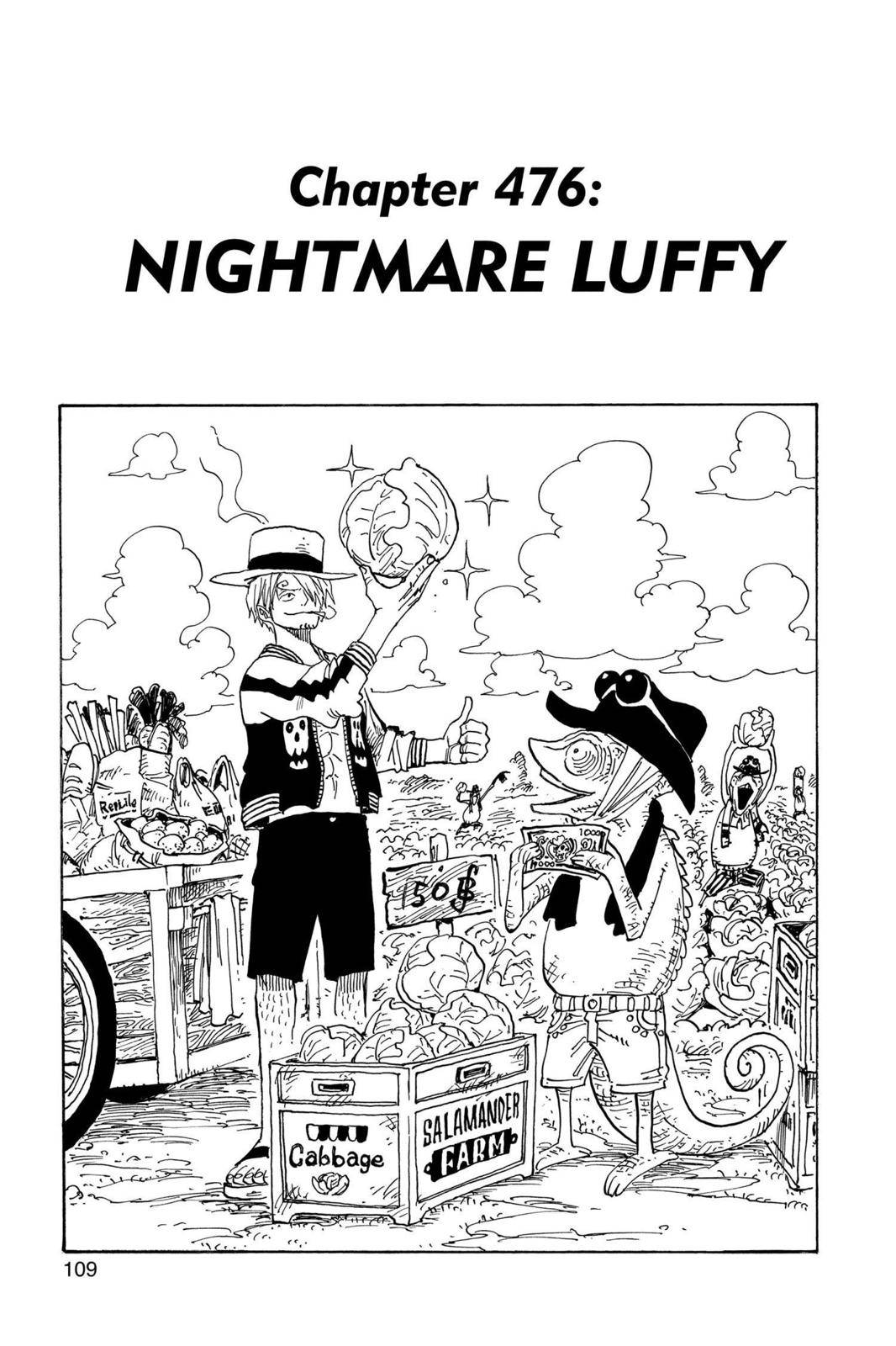 One Piece Chapter 476 Page 1