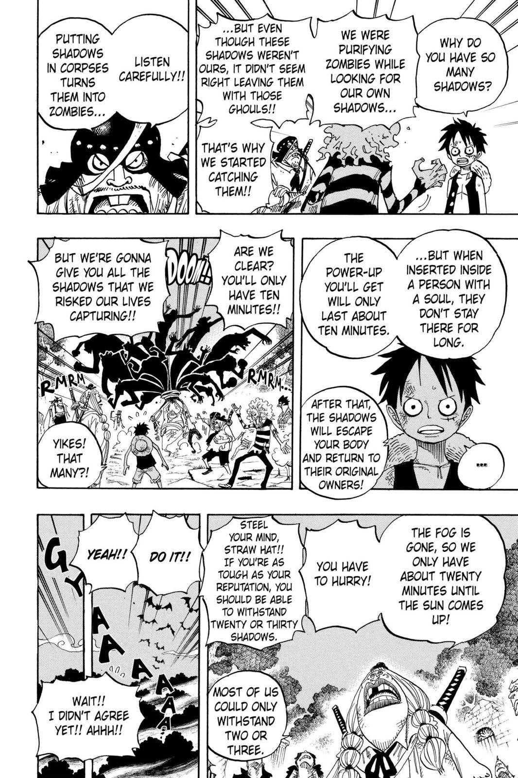 One Piece Chapter 476 Page 6