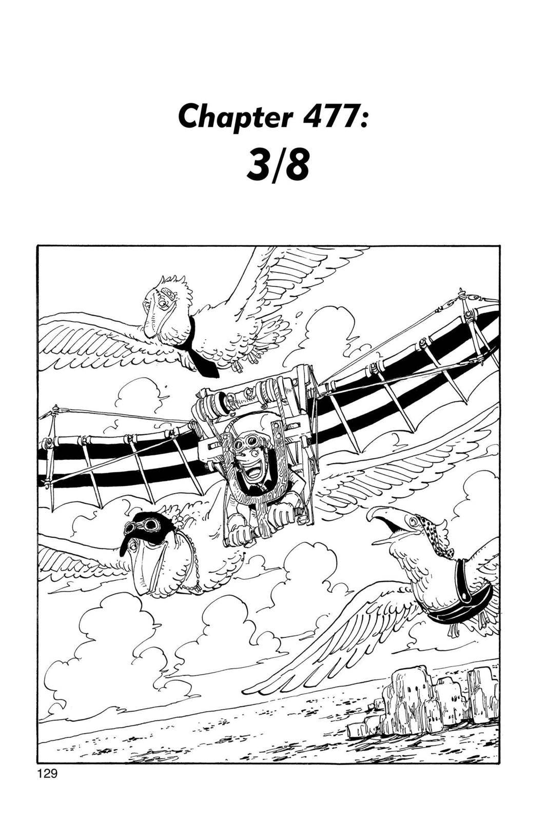 One Piece Chapter 477 Page 1