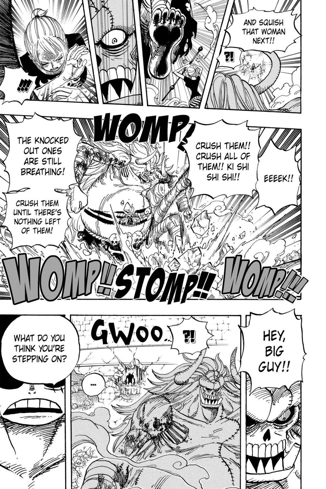 One Piece Chapter 478 Page 10