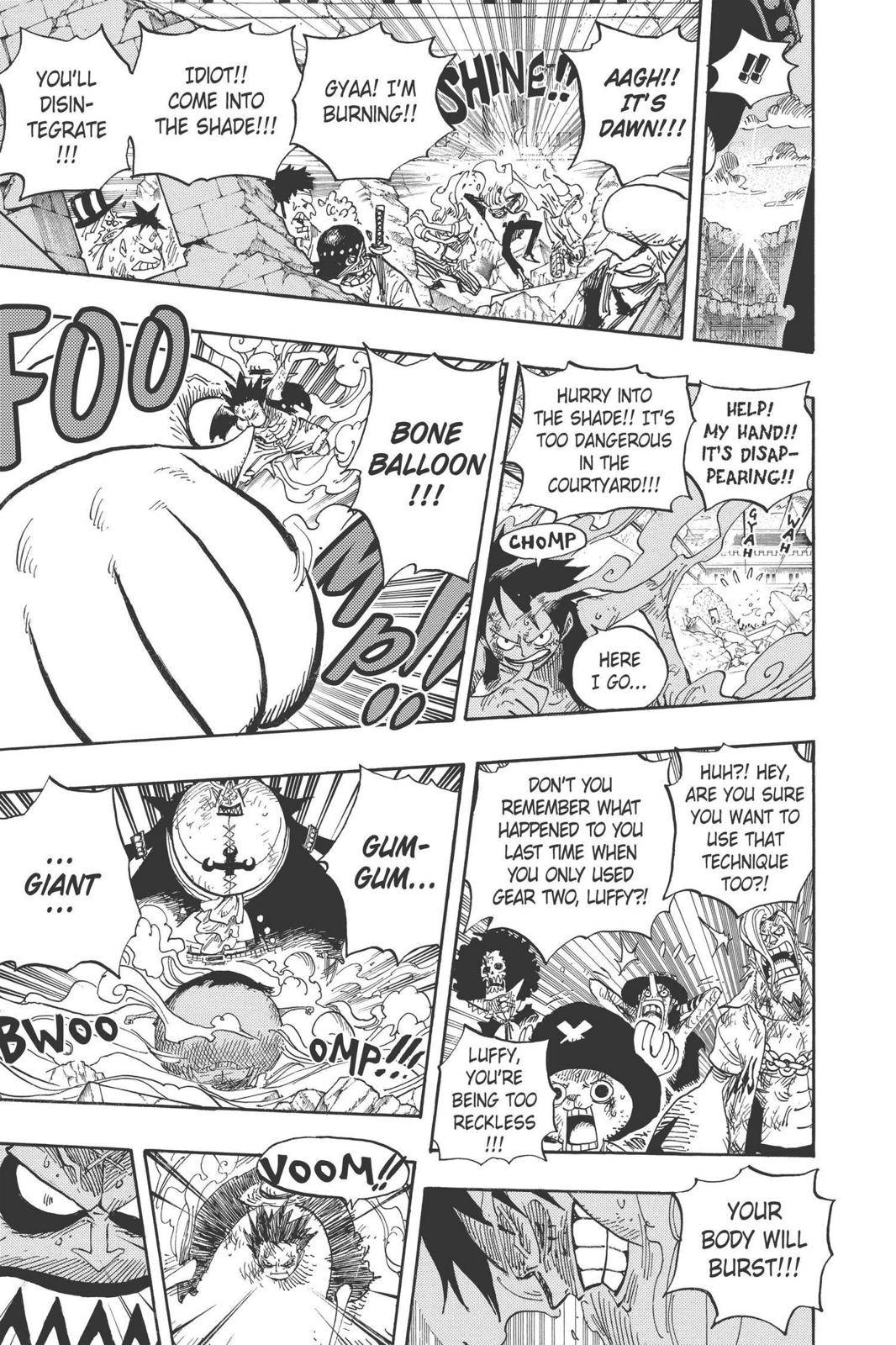One Piece Chapter 482 Page 18