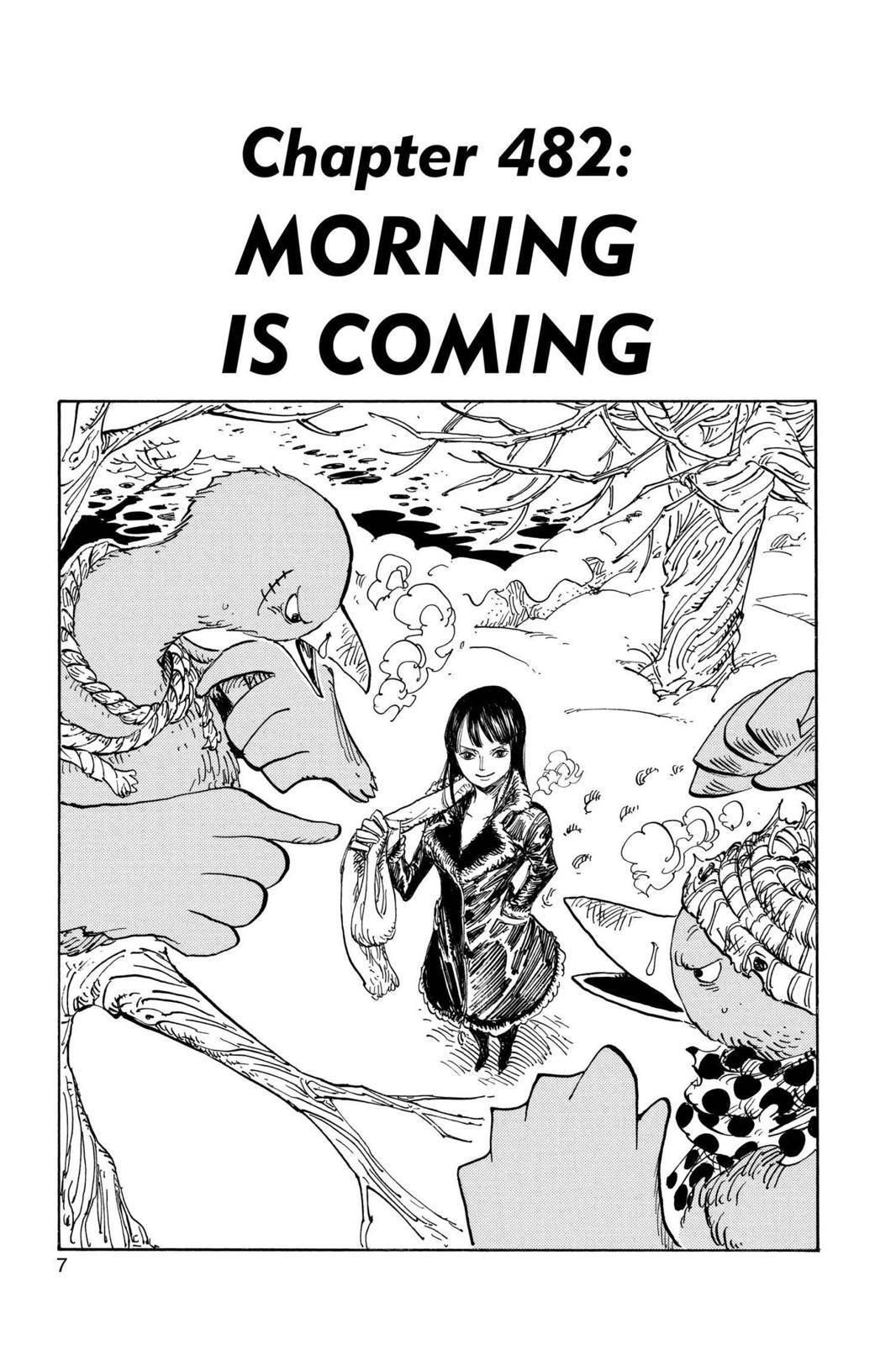 One Piece Chapter 482 Page 7