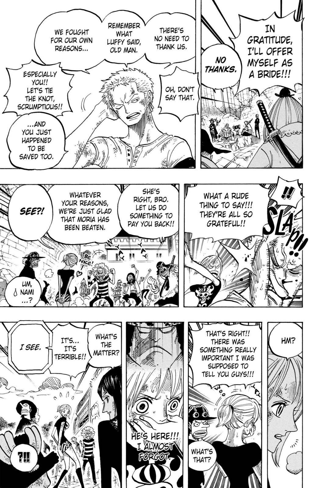 One Piece Chapter 483 Page 13