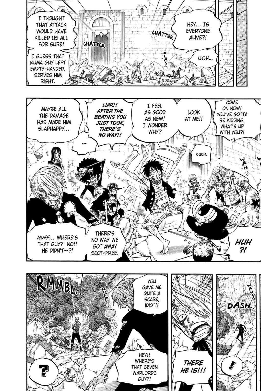 One Piece Chapter 485 Page 18