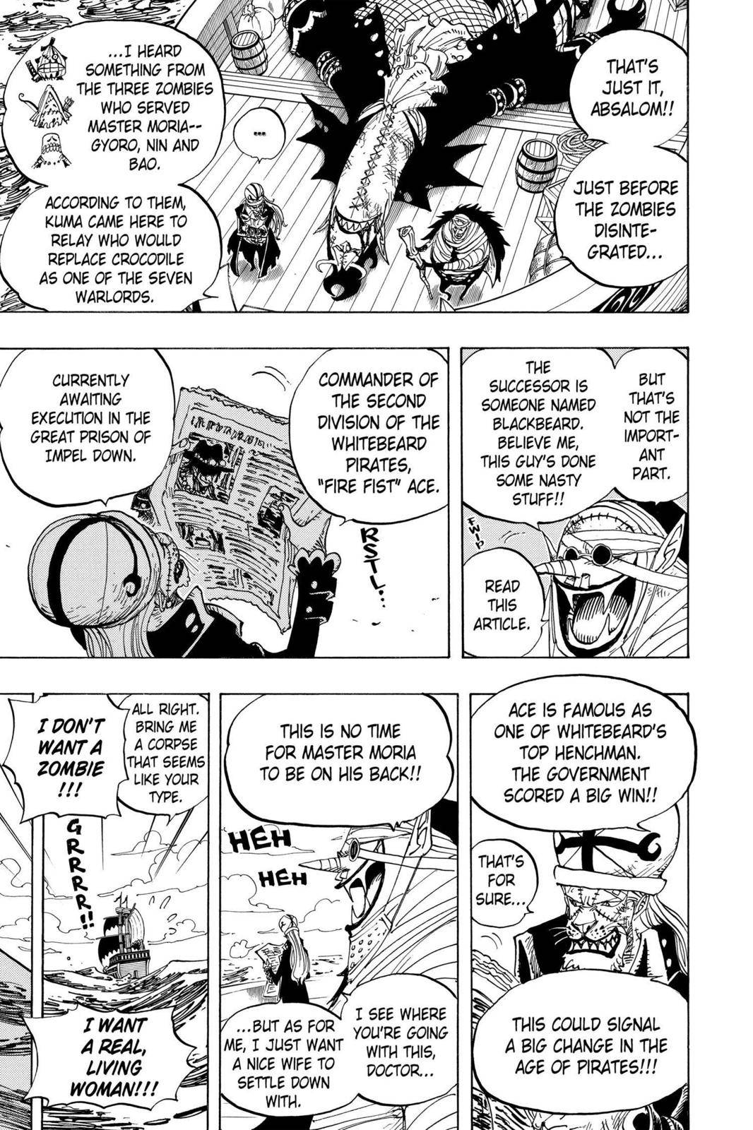 One Piece Chapter 486 Page 3
