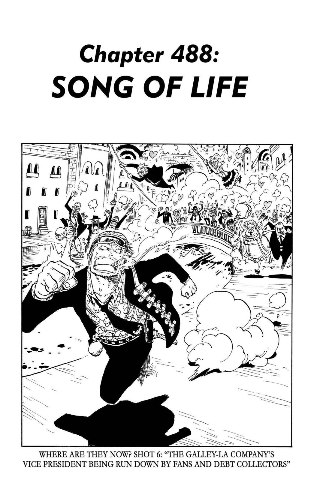 One Piece Chapter 488 Page 1