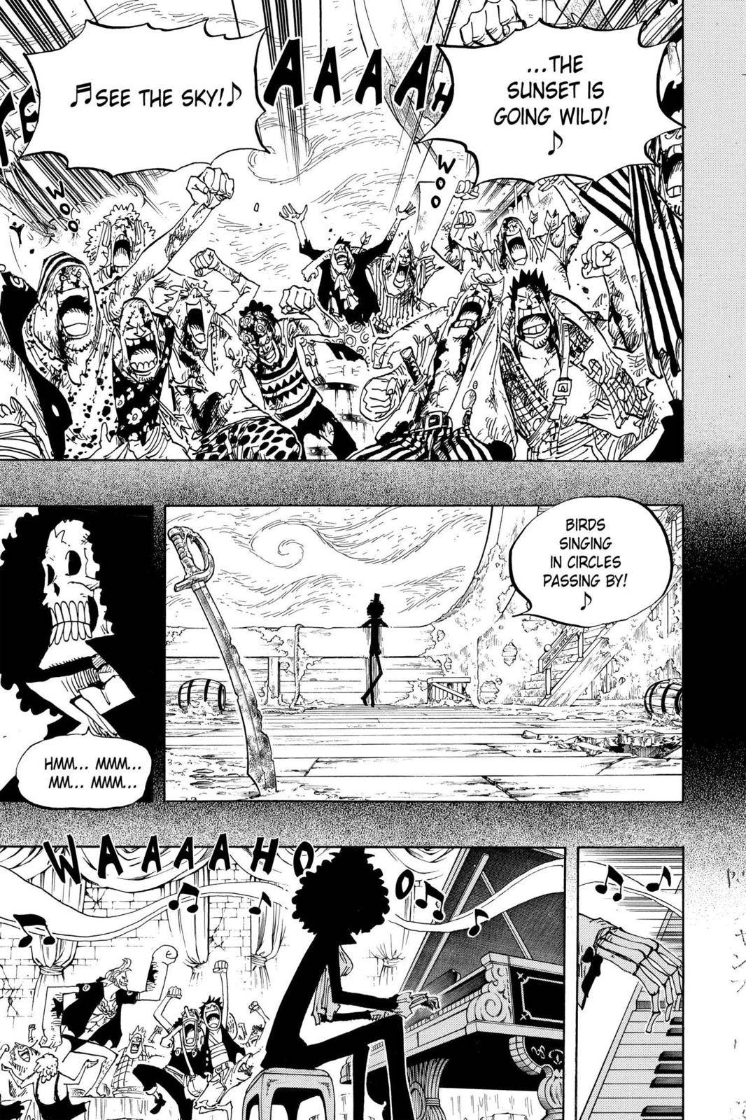 One Piece Chapter 488 Page 13