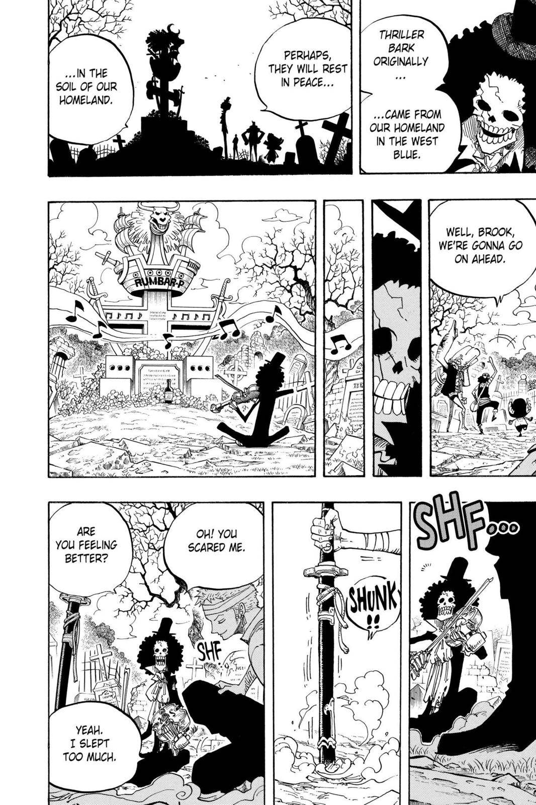 One Piece Chapter 489 Page 12