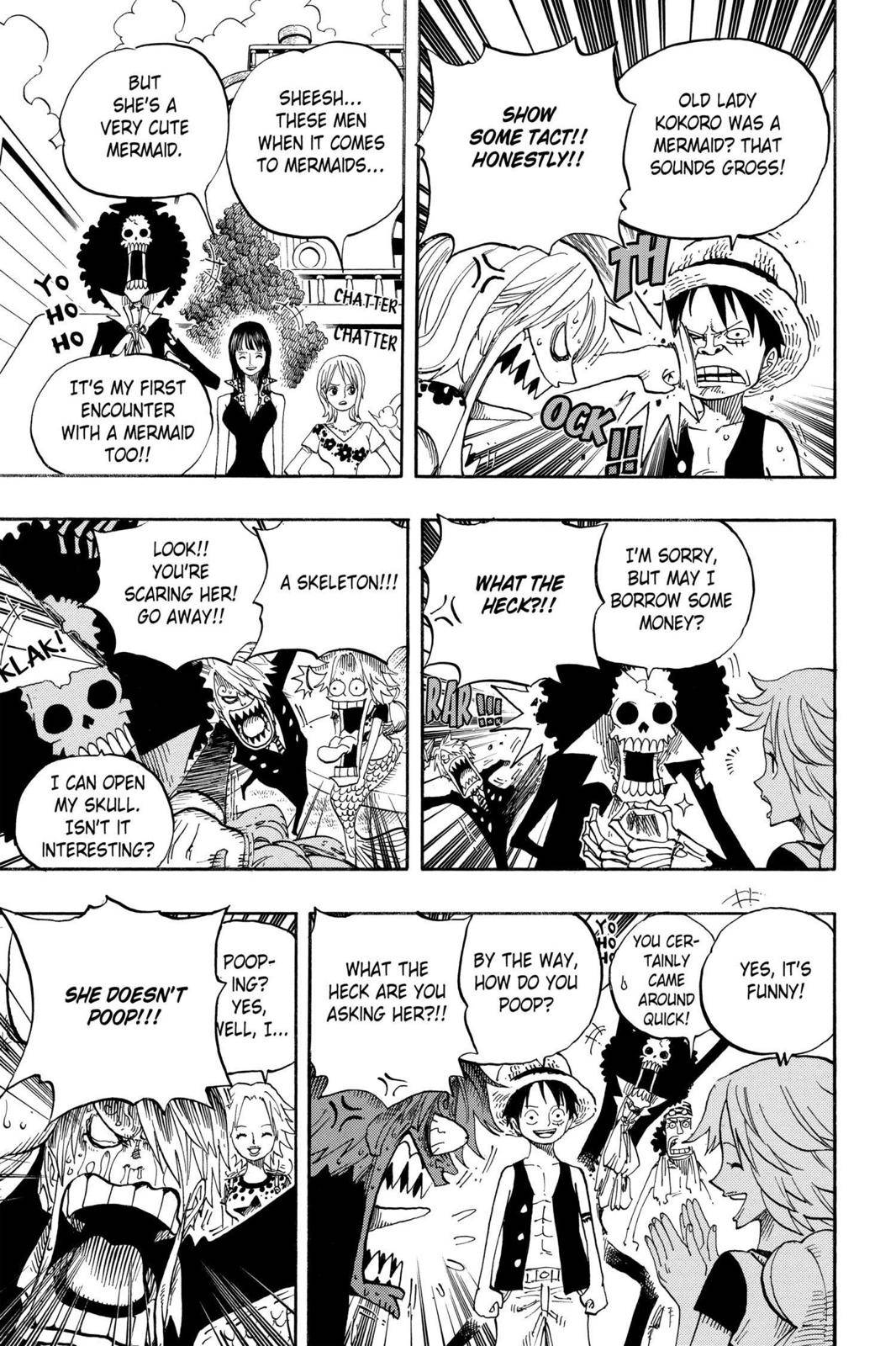 One Piece Chapter 491 Page 3