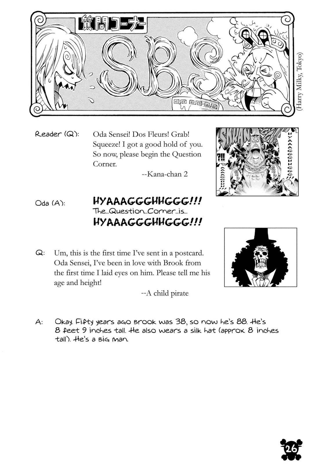 One Piece Chapter 492 Page 26