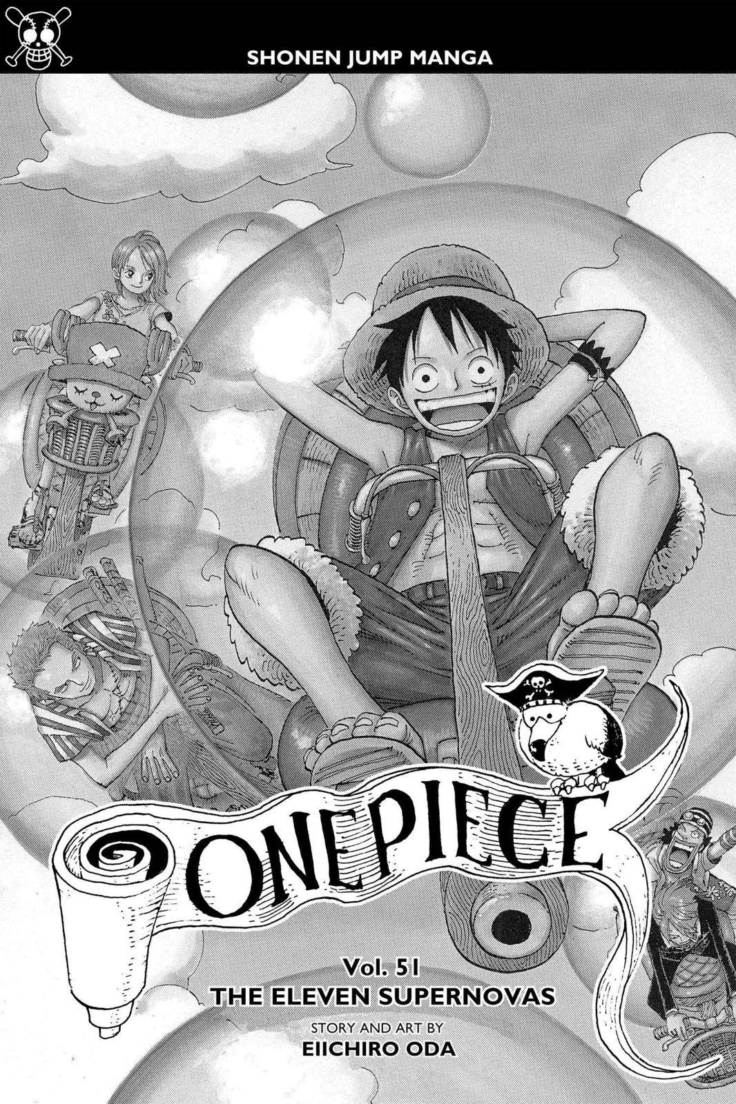 One Piece Chapter 492 Page 4