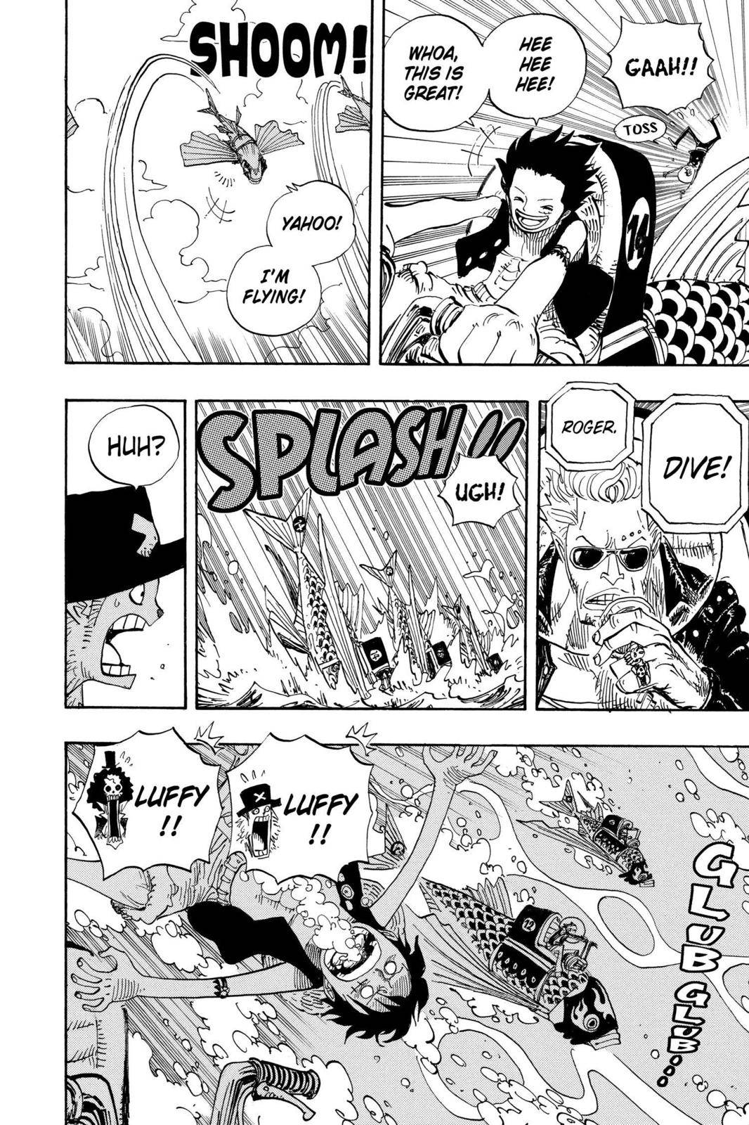 One Piece Chapter 493 Page 6