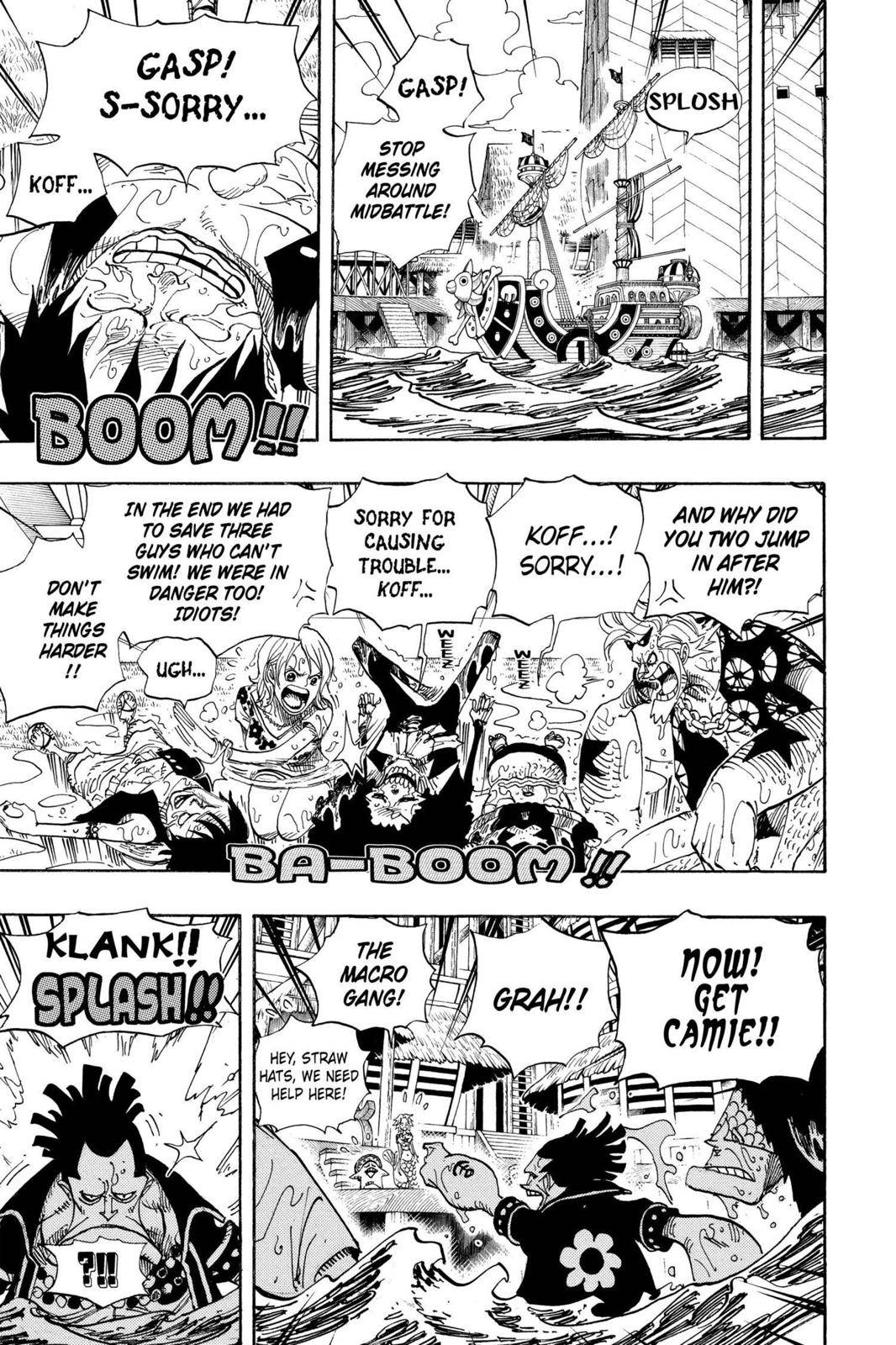 One Piece Chapter 493 Page 7