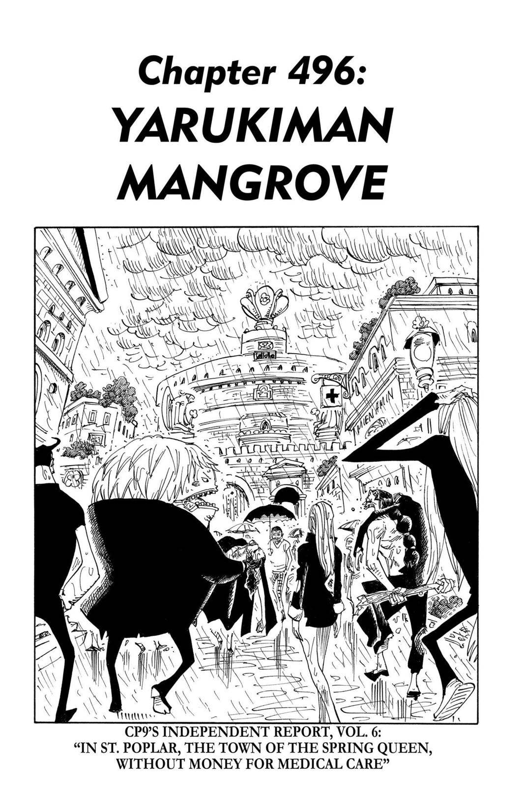 One Piece Chapter 496 Page 1