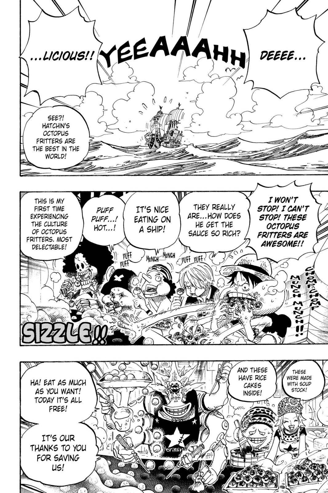 One Piece Chapter 496 Page 2