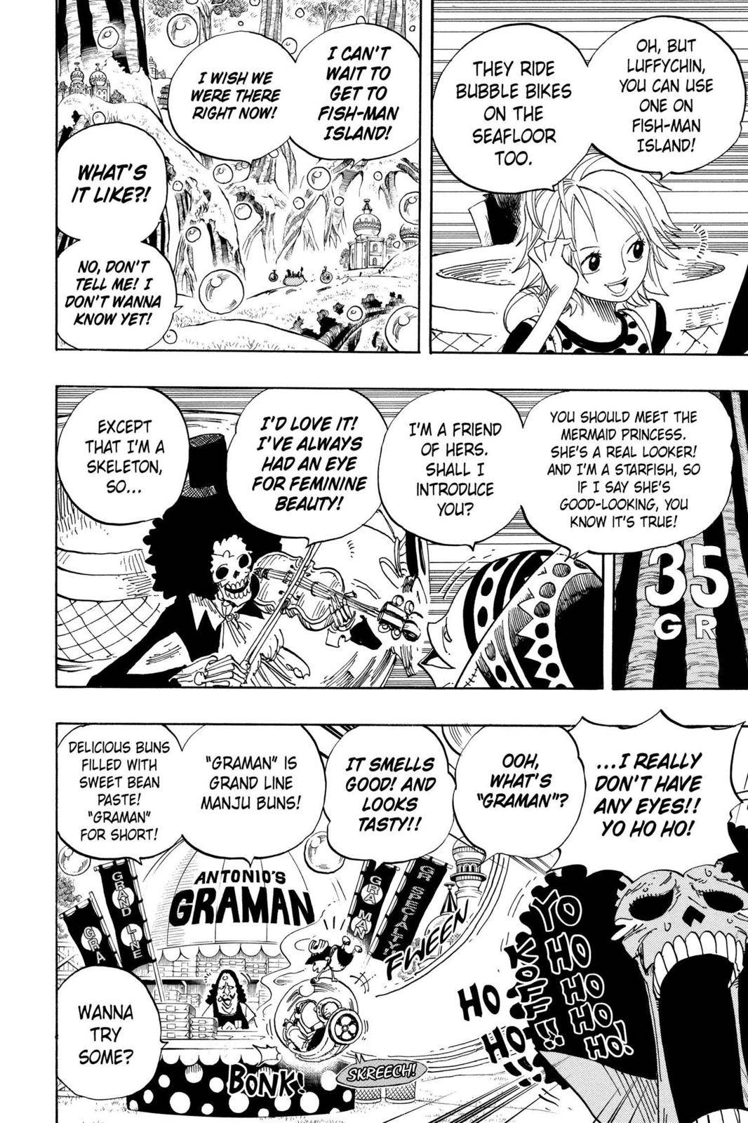 One Piece Chapter 497 Page 10