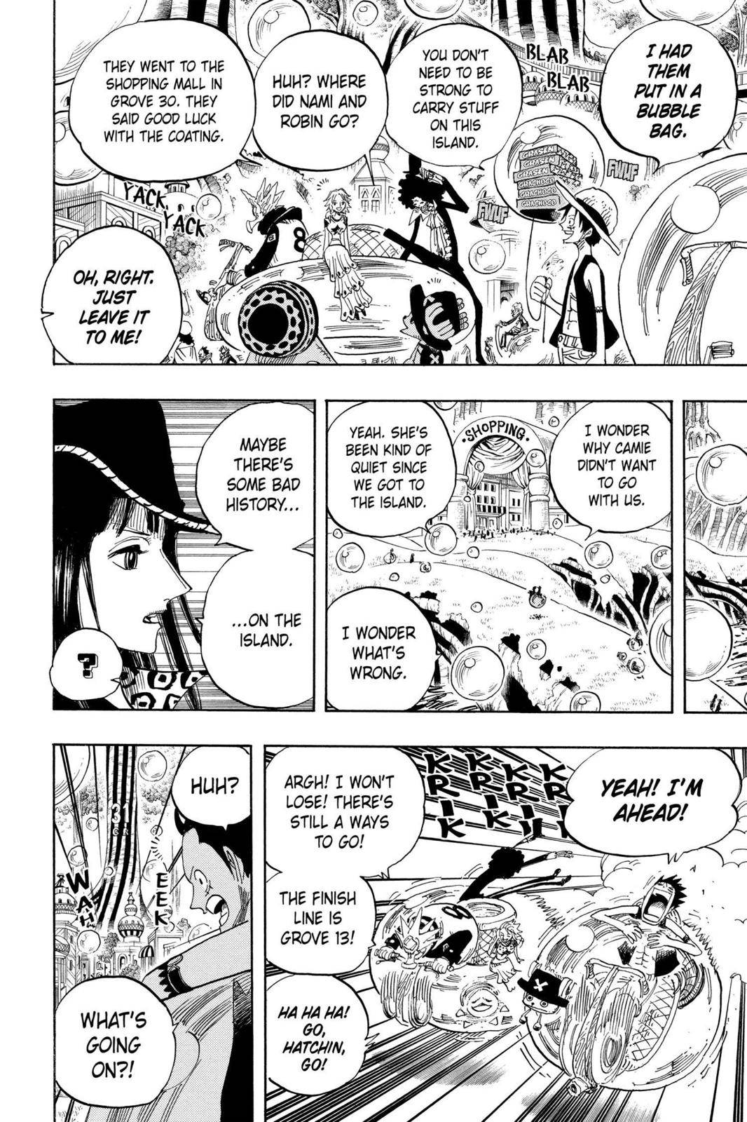 One Piece Chapter 497 Page 12