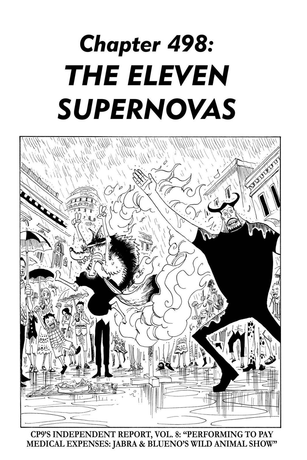 One Piece Chapter 498 Page 1