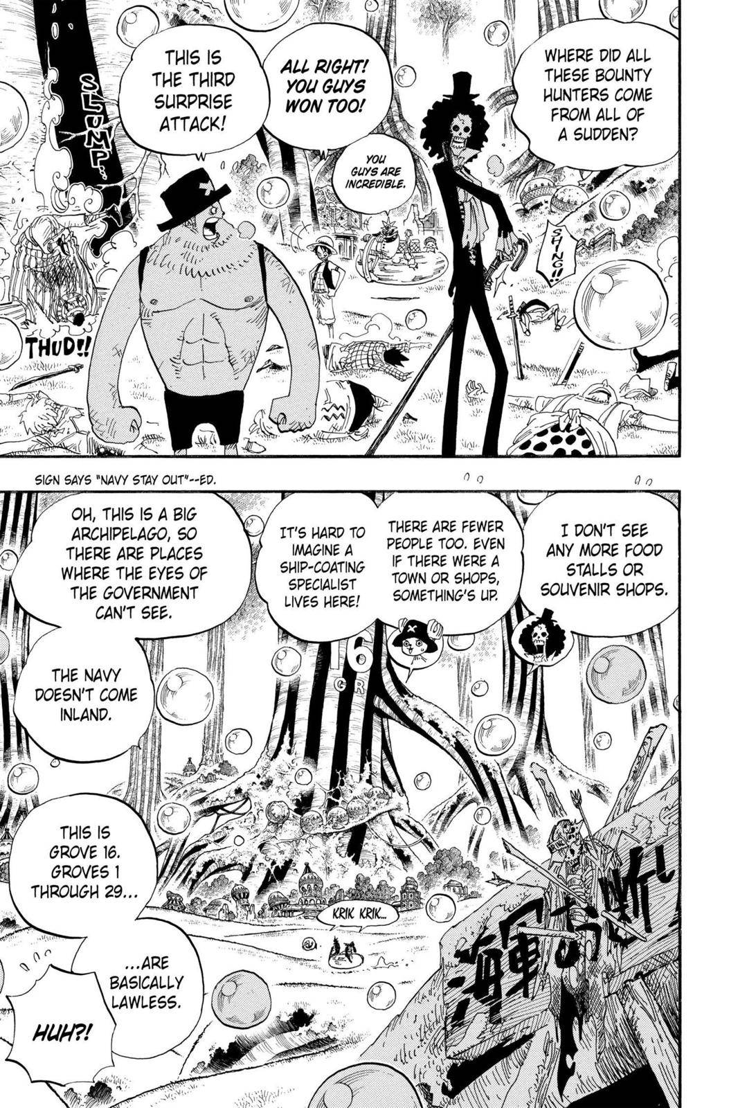 One Piece Chapter 498 Page 3