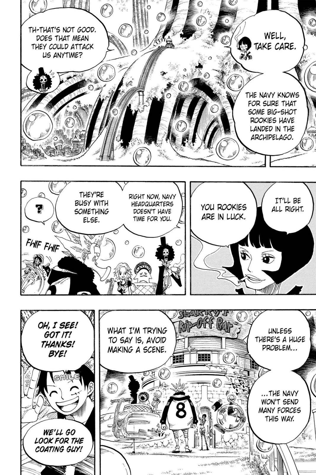 One Piece Chapter 499 Page 2
