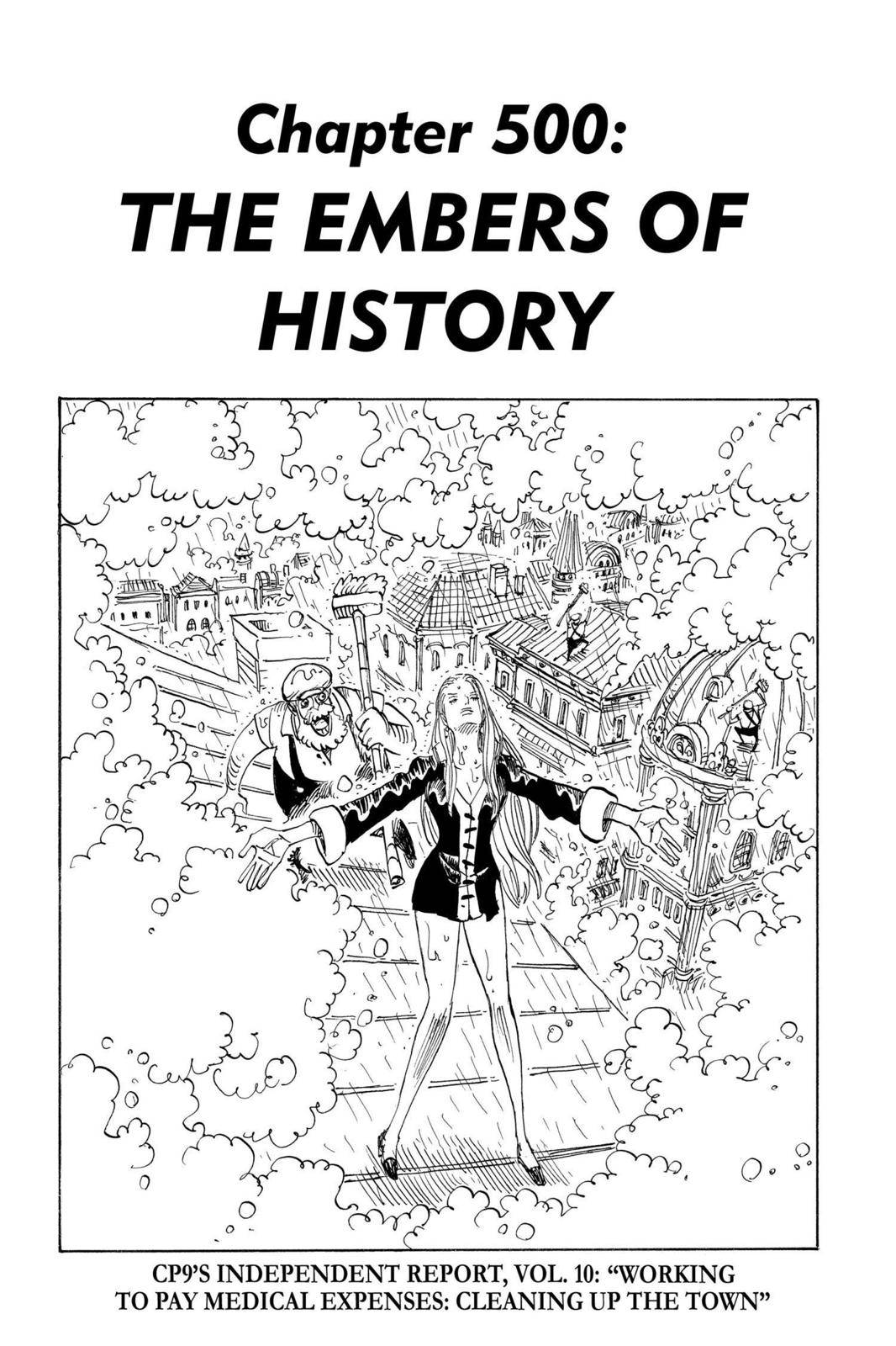 One Piece Chapter 500 Page 1