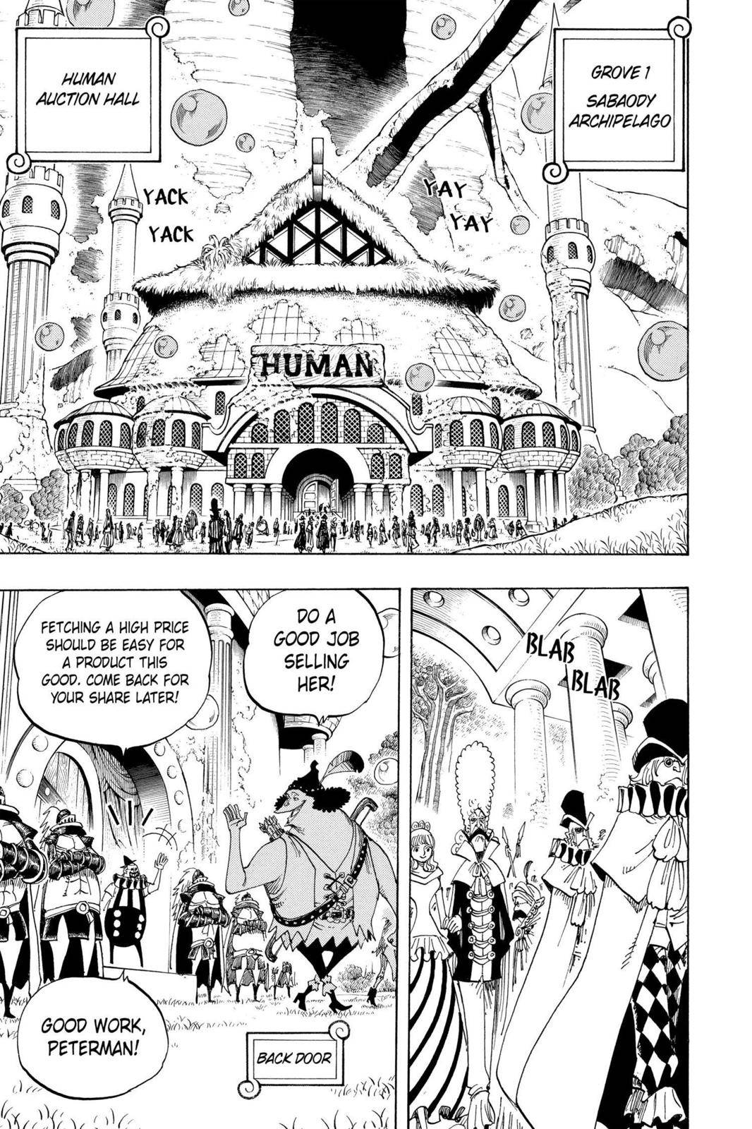 One Piece Chapter 500 Page 13