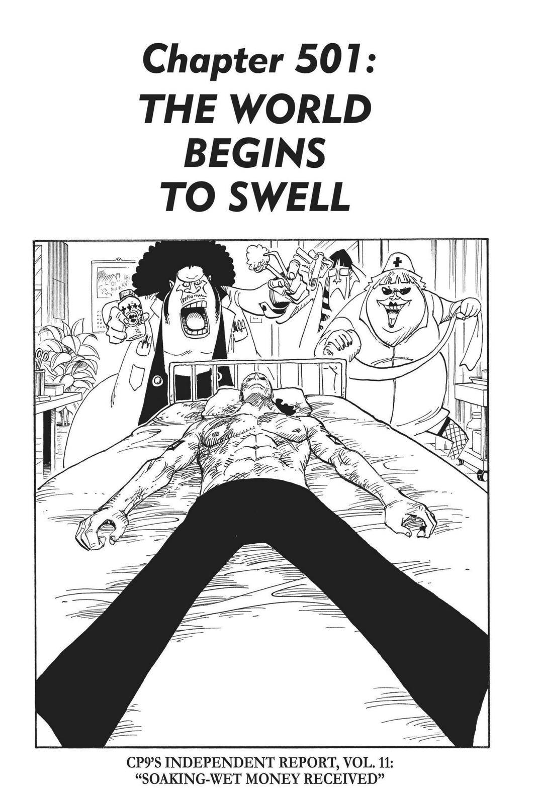 One Piece Chapter 501 Page 1