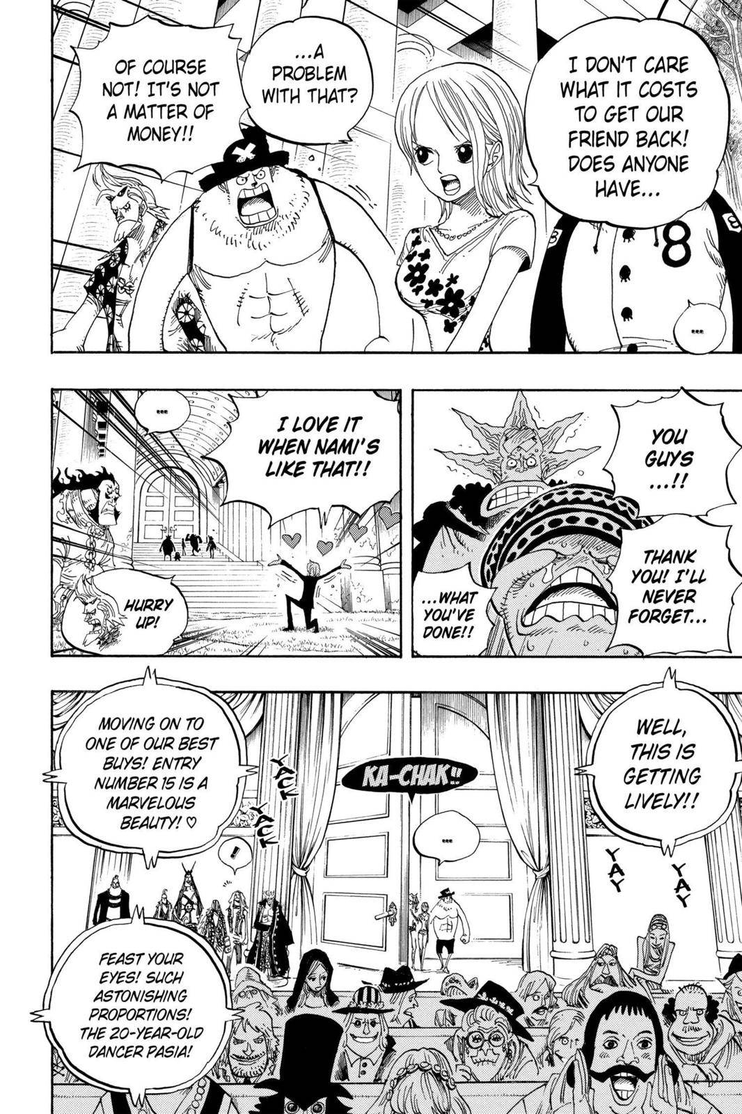 One Piece Chapter 501 Page 15